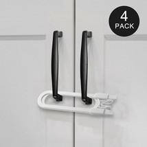 Adoric Sliding Cabinet Locks U Shaped Baby Safety Locks Childproof Cabinet La... - $9.89