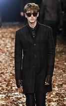 JOHN VARVATOS Wool Shawl Collar Runway Coat. Size EU 48 USA 38. $1998. NEW. - $1,055.38