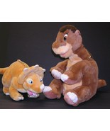Vintage The Land Before Time Plush LITTLEFOOT & CERA JC Penney Exclusive Gund - $49.99