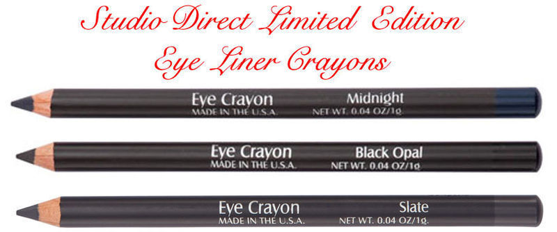 ONE EYE LINER CRAYON COSMETIC SMOOTH CREAMY PENCIL EYELINER W JOJOBA OIL NEW