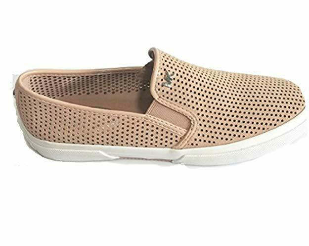 Michael Kors Boerum Double Gore Lasered Slip On Sneakers Size 9