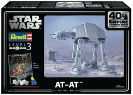 Revell Star Wars AT-AT 40TH ANNIVERSARY MODEL KIT 5680 - $89.09