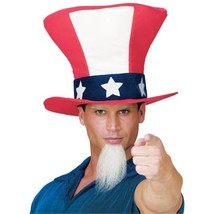 Costumes For All Occasions FW93401 Uncle Sam Hat W Beard - €23,11 EUR