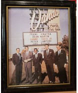 Rare Photo of The Original 'Rat Pack in Front of the Sands Hotel and Cas... - $17.99