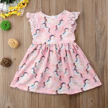 NWT Unicorn Girls Pink Sleeveless Dress 2T 3T 4T 5T - $10.99