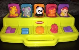 1995 Playskool Pop Up Surprise Zoo Animal Toy Baby Toddler Interactive 0... - $12.86