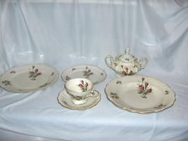 Vintage 44-Pc Set Rosenthal China Pompadour Selb Germany 8 Place Setting... - $519.75