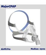 ResMed AirFit F10 Full Face Mask with Headgear - Medium (63102) - $83.99