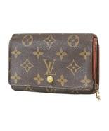 Authentic LOUIS VUITTON Monogram Long Wallet Zippered Coin Purse #9650 - $98.10