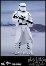 HOT TOYS STAR WARS FIRST ORDER SNOWTROOPER FIGURE 1/6 SCALE MMS321 ESB - $265.41