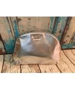 Victoria's Secret Silver Zippered Makeup Cosmetic Bag NEW - $9.49