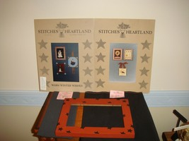 Stitches From The Heartland Patterns Plus Fabrics & Frame - $46.99