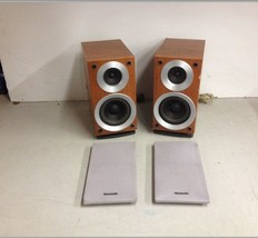 Panasonic SB-PM19 Pair 70w 6 Ohm Bookshelf Speakers - $20.00