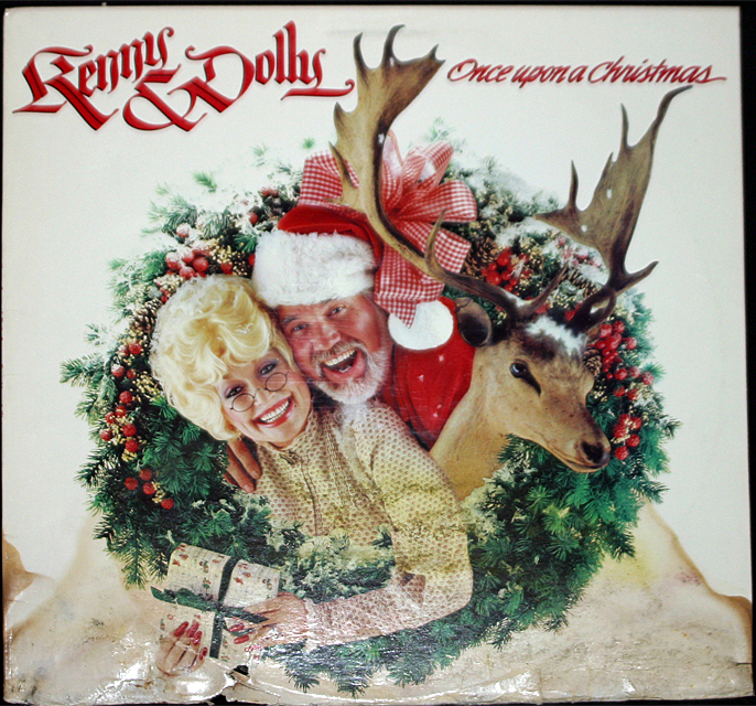 Kenny   dolly once upon a christmas cover