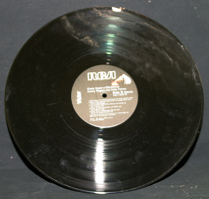 """Kenny Rogers & Dolly Parton """"Onc Upon A Christmas""""   LP"""