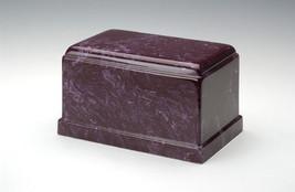 Olympus Cultured Marble Merlot Adult Cremation Urn, 275 Cubic Inch TSA A... - $194.99
