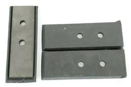 LOT OF 3 NEW OKUMA H1023-0025-19 WIPERS LU45 LOWER CLOSS-SLIDE (BACK PLATE LEFT)