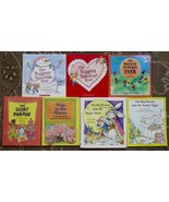 7 Steven Kroll books The Biggest Valentine Ever, Snowman Ever, Pumpkin Ever - $15.00
