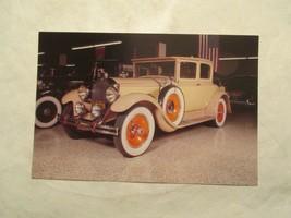 1929 Packard Cars of the Stars Nashville TN Continental Postcard - $4.99