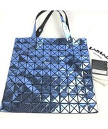 BAOBAO ISSEY MIYAKE Tote Bag Blue BB61 AG102 71 Auth Never Used New w Gu... - $668.65