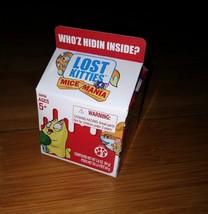Lost Kitties Mice Mania Singles Toy Surprise Kids Blind Bag Milk Carton - $5.89