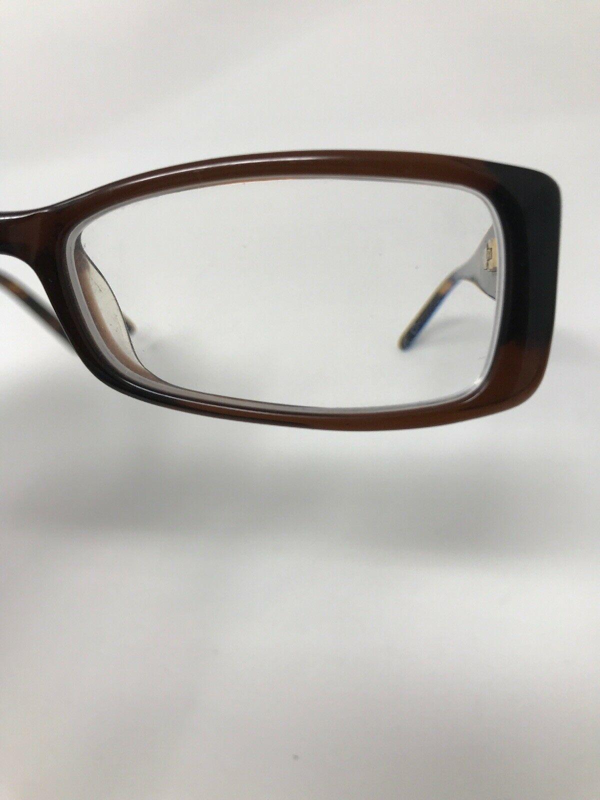 CALVIN KLEIN Eyeglasses Frame CK5744 210 49-15-135 Clear Brown/Monogram XE68