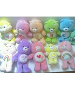 Lot Of 12 Vintage Care Bears  Care Bear Cousin Plush Different Sizes - $67.00