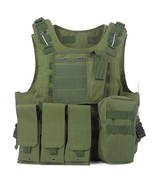 Amphibious Tactical Military Molle Waistcoat(ARMY GREEN) - $30.99