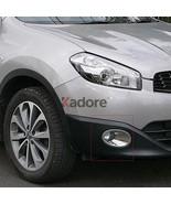 1 Set For Nissan Qashqai And Qashqai+2 2010-2013 Chrome Front Fog Light ... - $39.95