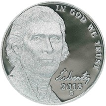 2013 S Jefferson Proof Nickel-Free Shipping - $5.93