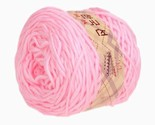 Milk Cotton Thick Yarn 0206 knitting Yarn Scarf Yard Warm & Soft Yarn, Pink(31)
