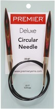 "Premier Fixed Circular Knitting Needles 40""-Size 17/12mm - $12.36"