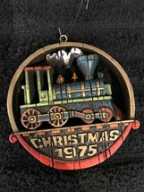 Vintage Hallmark Train Christmas 1975 Ornament from the tree trimmer collection - $10.00