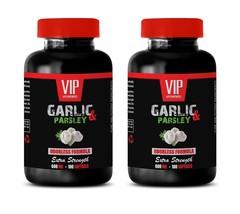 Parsley Capsules - Odorless Garlic & Parsley 600mg - Garlic Detox 2B - $28.01
