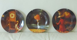 Decorative Wall Plates Depicting Paintings by Artist David Rodriguez - $69.00