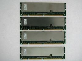 4GB 4X1GB PC133R-333-542-Z HB52RF1289E2-75B 133MHz ECC REG RAM TESTED - $39.35