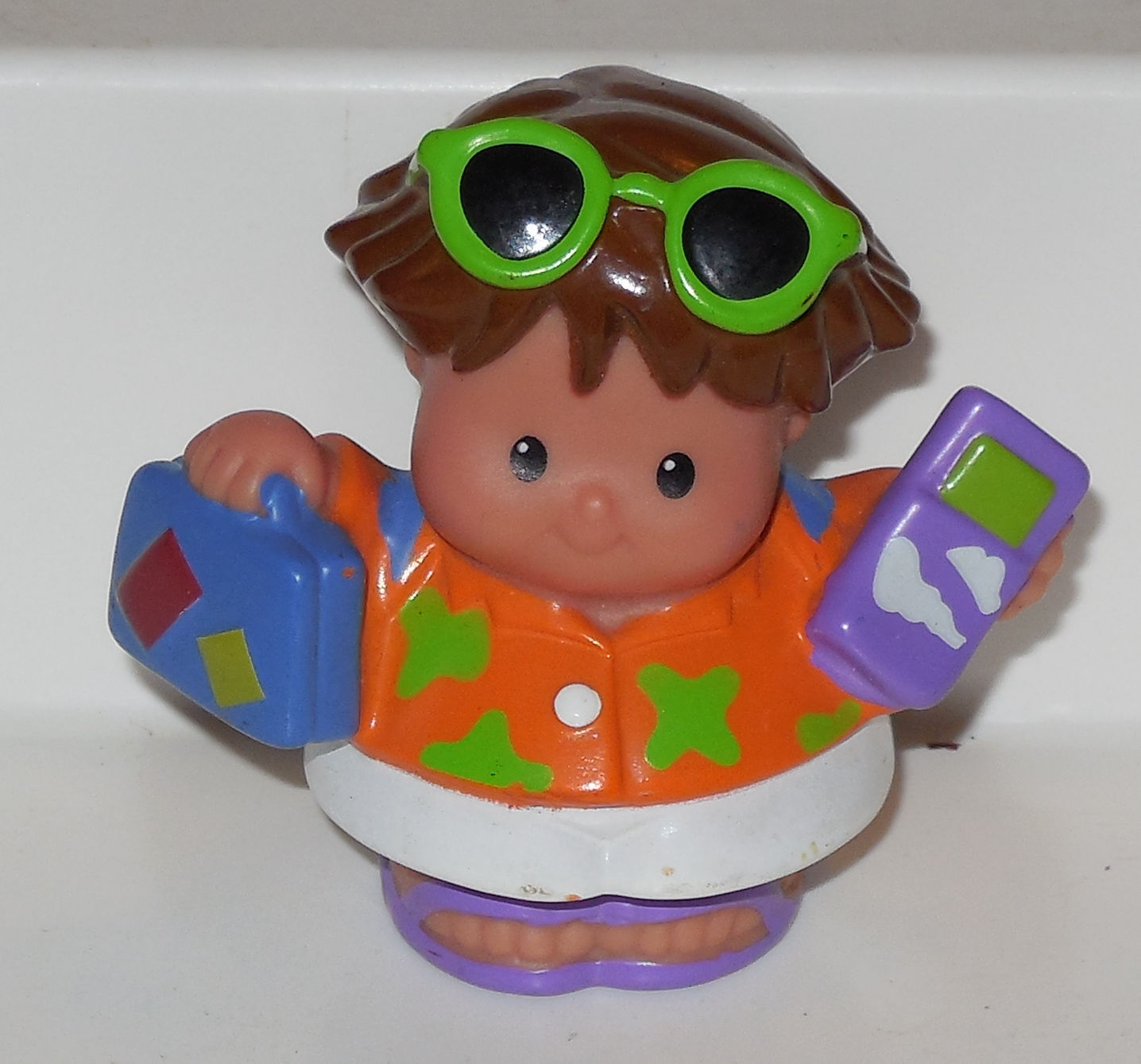Fisher Price Current Little People Boy FPLP #1