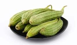 Srilanka Natural High Quality, Organic Ridged gourd (Chinese okra) Plant... - $2.99+