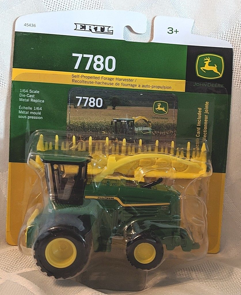 John Deere TBE45436 ERTL 7780 Self Propelled Forage Harvester