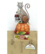 "Jim Shore Heartwood Creek ""Happy Harvest"" cat figurine #4017424  - $67.32"