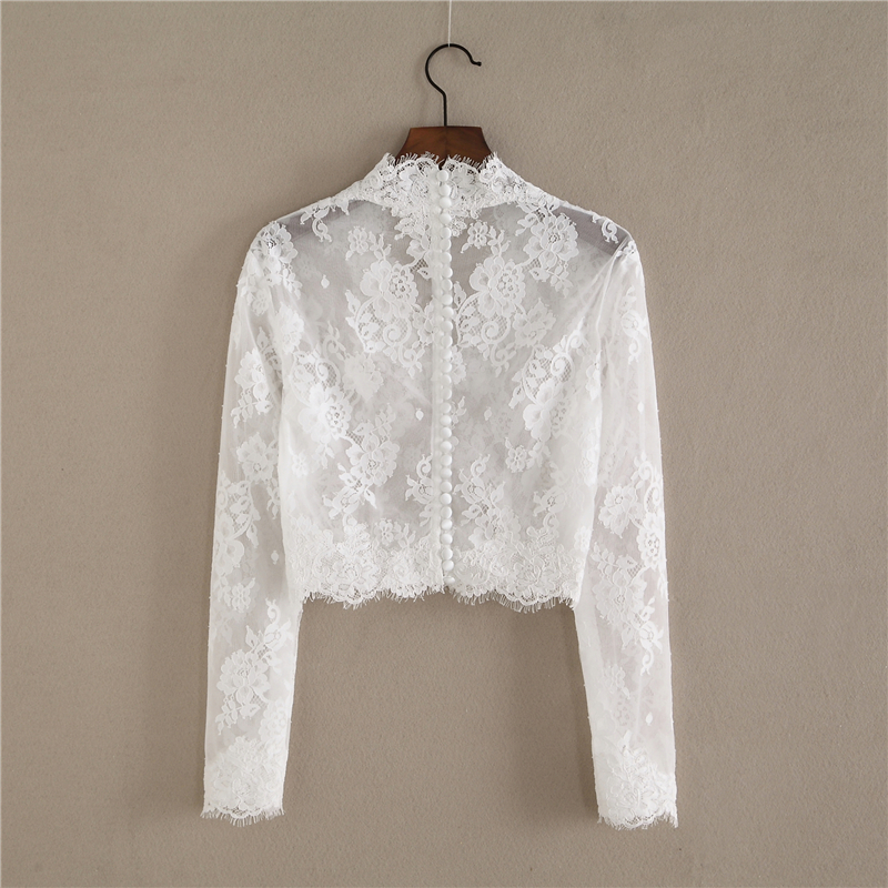 Long sleeve lace top 2