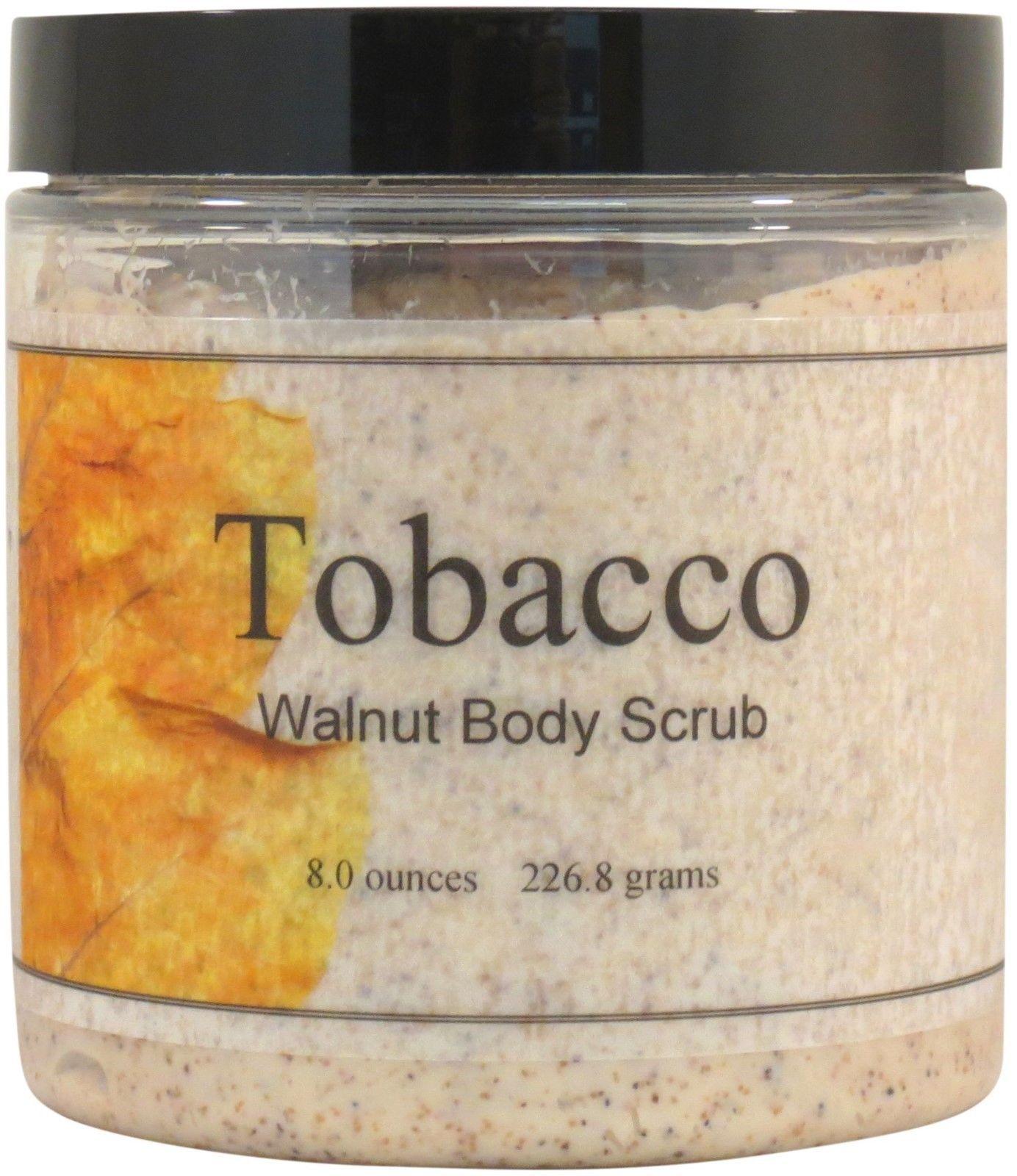 Tobacco Walnut Body Scrub