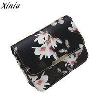 Very popular Women Floral leather Shoulder Bag Satchel Handbag Retro Mes... - $12.99