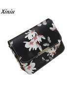 Very popular Women Floral leather Shoulder Bag Satchel Handbag Retro Mes... - $8.65
