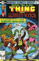 Marvel Two-In-One Comic Book #66 The Thing & Scarlet Witch Marvel 1980 V... - $2.75