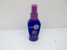 It's A 10 (Ten) Miracle Leave In Product 4Fl oz New !!! - $10.39