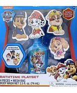 Paw Patrol 6 Pieces Bath Time Play Set For Boys - $7.99