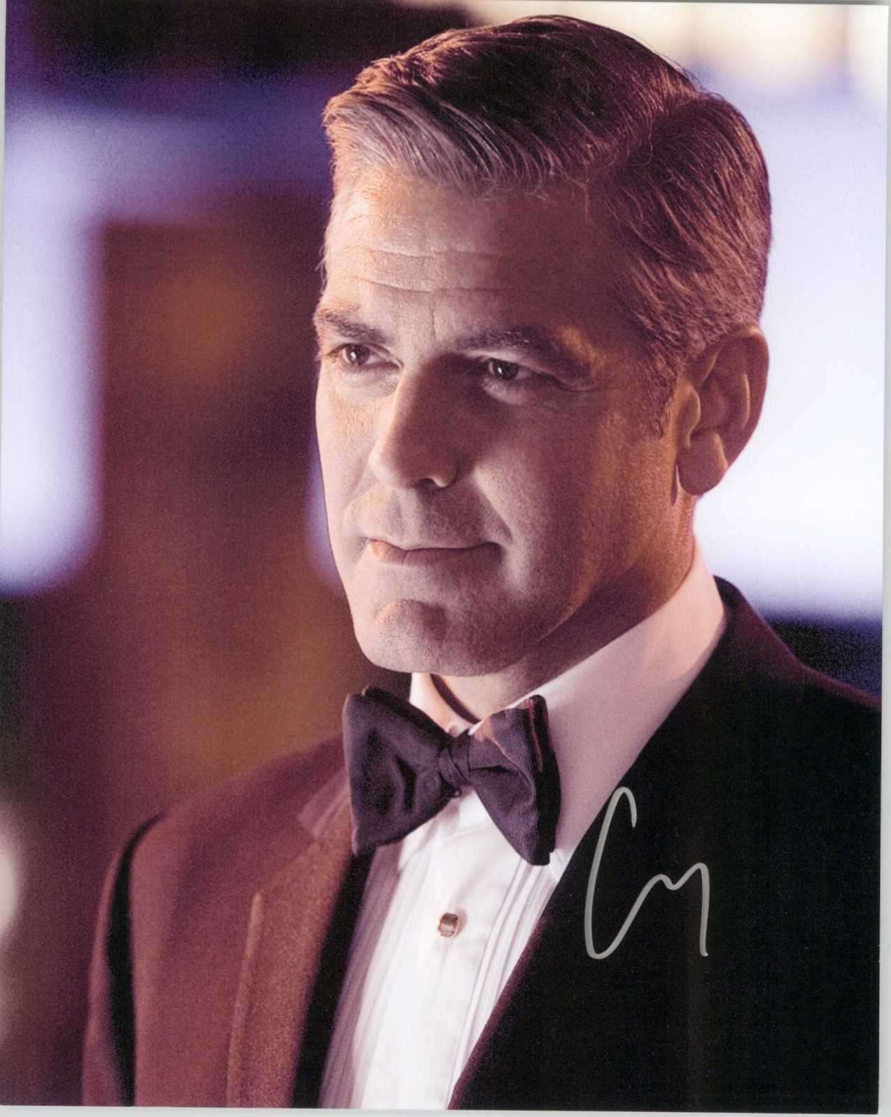 Primary image for George Clooney Signed Autographed Glossy 8x10 Photo