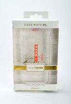 Case Mate Naked Tough iPhone 6 iPhone 6s Hard Shell Case (SF Golden Gate... - $12.00