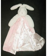 Bunnies By the Bay Baby Pink Security Blanket Lovey Best Friend Indeed Gown - $24.73